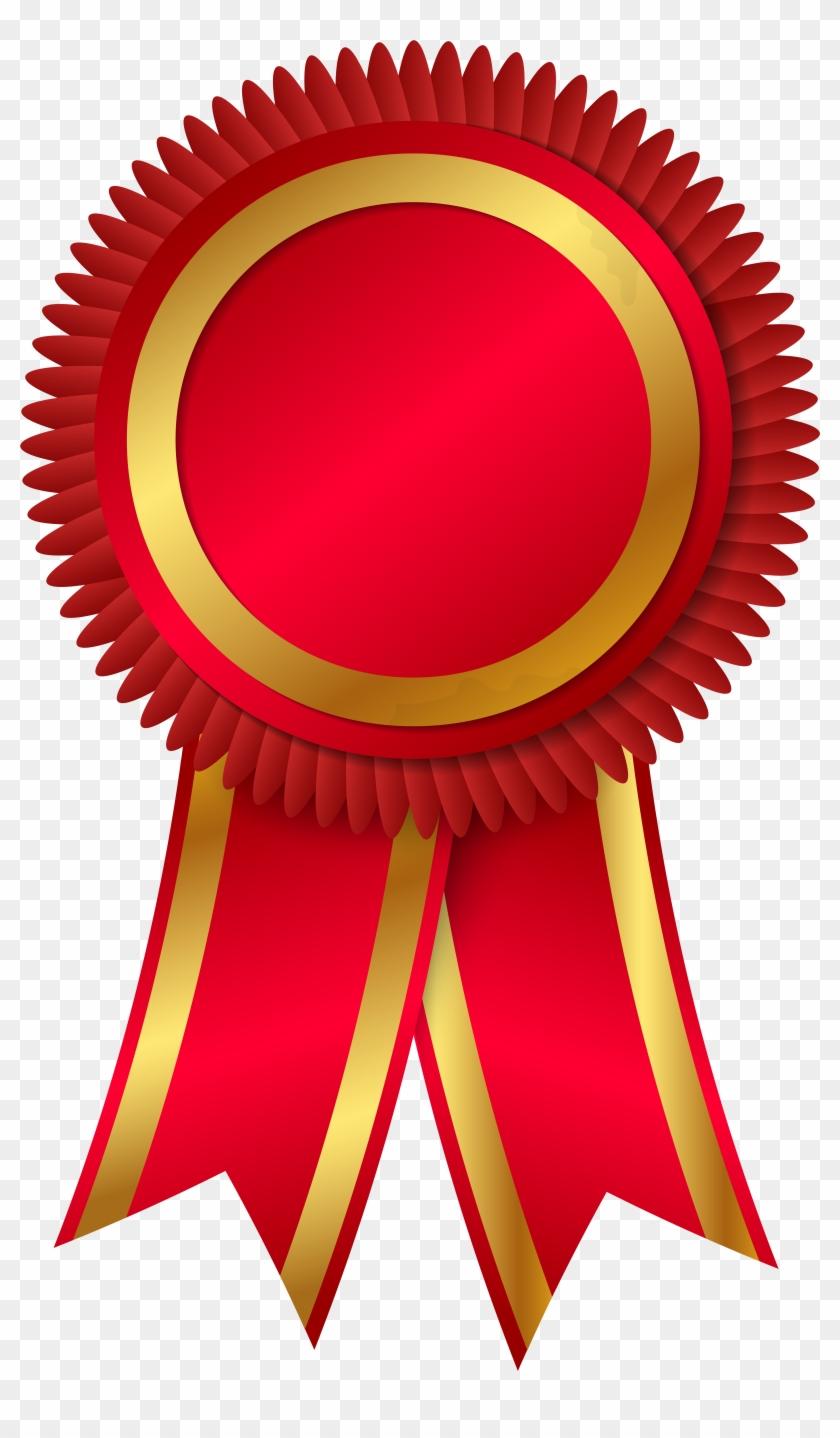 Rosette Award Ribbon Clip Art - Rosette Award Ribbon Clip Art #90014