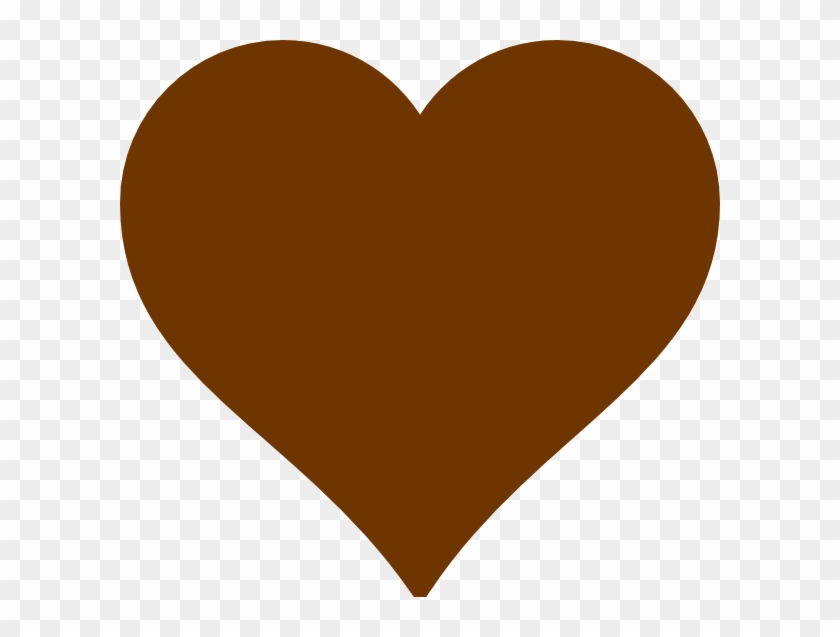 Brown Hearts - Brown Heart #89772