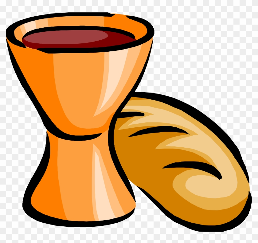 big image communion bread and wine free transparent png clipart