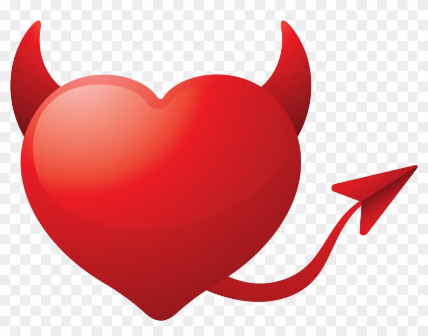 Heart Clipart - Evil Heart Png #89852