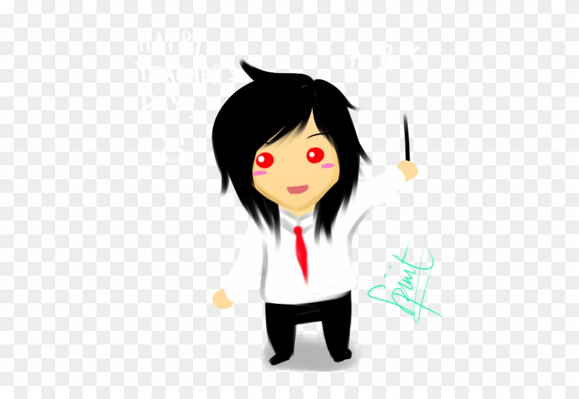 Happy Teacher's Day By Kuraikitsune13 - Anime Teacher Gif Png #89886