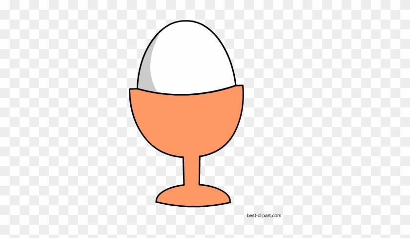 Egg In A Pot, Free Clip Art - Clip Art #89925