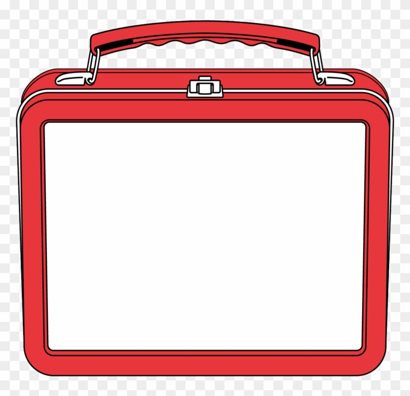 Lunch Box Clipart - Lunch Box Border #89950
