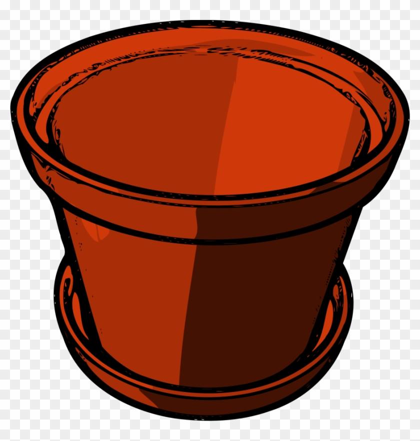 Flower Pot Clip Art Hostted - Flowerpot Clipart #89954