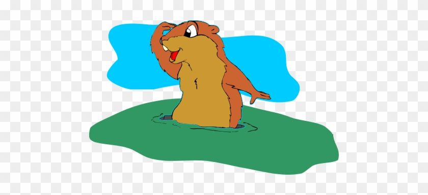 If This Day Is Cloudy The Groundhog Will Not See Its - Groundhog With No Shadow #89992
