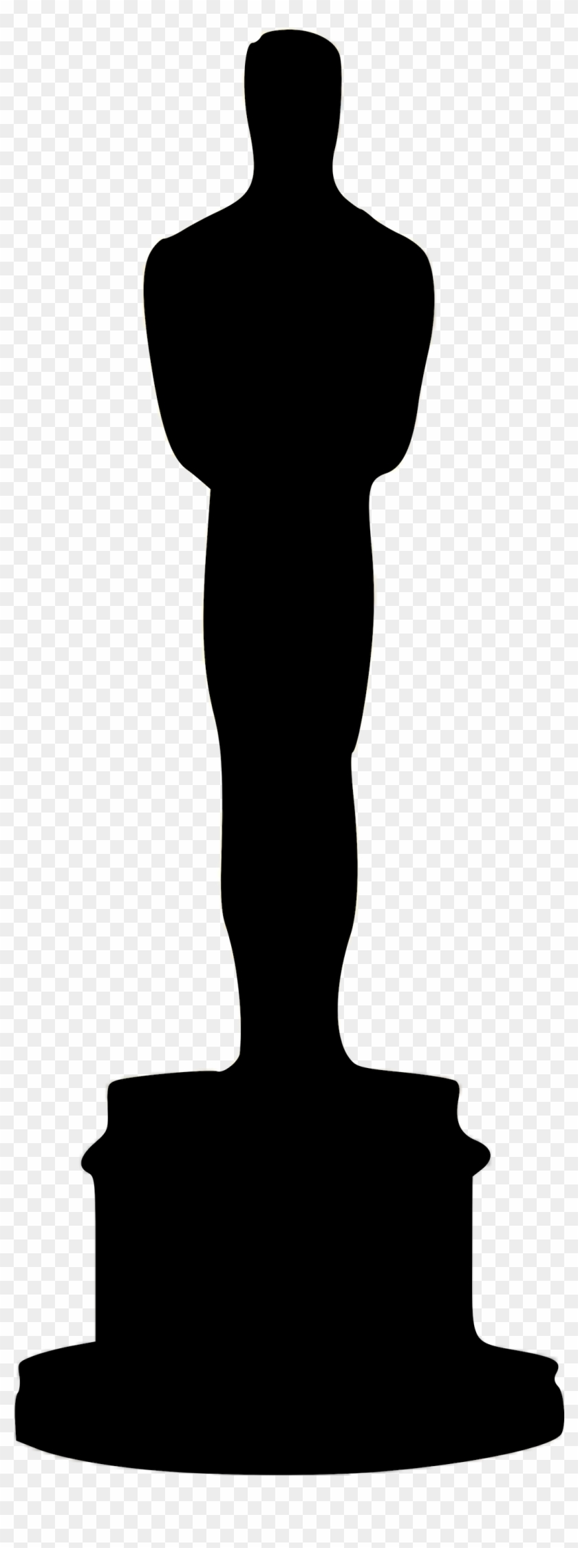Oscar Cliparts Free Download On Png - Academy Award Silhouette Png #90039