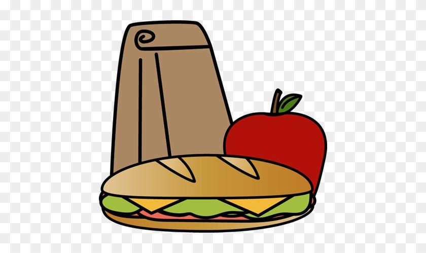Bag Sandwich Lunch - Lunchclip Art Free #90049