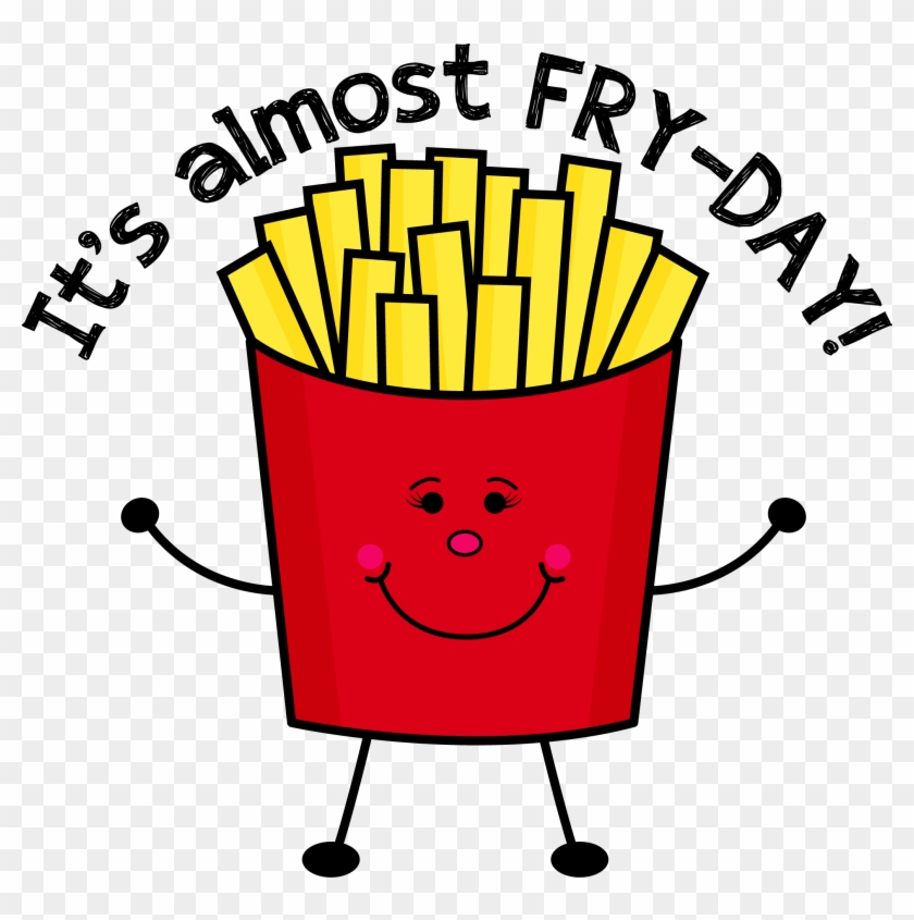 Fry Day Cute Clipart - Fry Day #90061