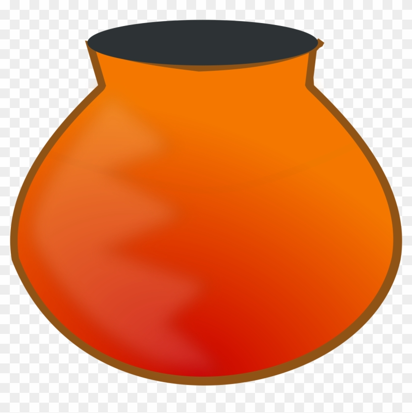 Pot Clipart - Drawing Of Clay Pot #90071