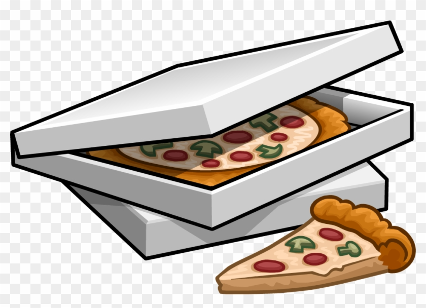 Pizza Clipart Pizza Box - Pizza Box Clipart #90094