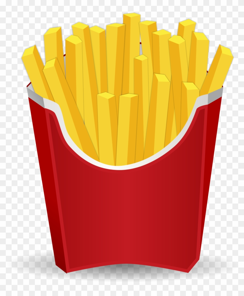 French Fries - French Fries Clip Art #90129