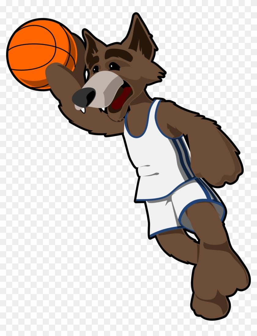 Basketball Cartoon Film - Cartoon Basketball Player Dog #90132