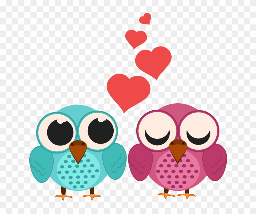 Valentines Day Couple Transparent Images - Owl Love Png #90195