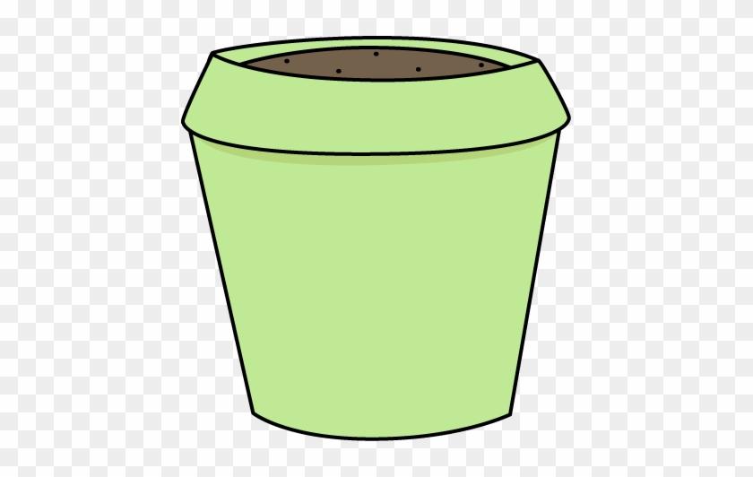 Simple Flower Pot Clip Art Green Flower Pot Clip Art - Empty Flower Pot Clipart #90244