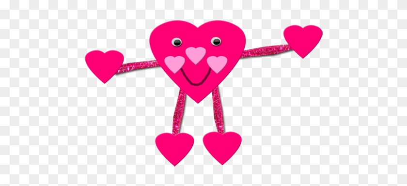 Valentines Day Heart Guy Crafts Ideas For Kids Valentine - Valentines Day Art Projects #90249