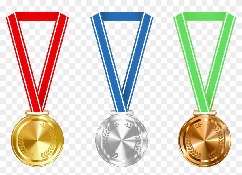 Medal - Gold Silver And Bronze Medals #90361