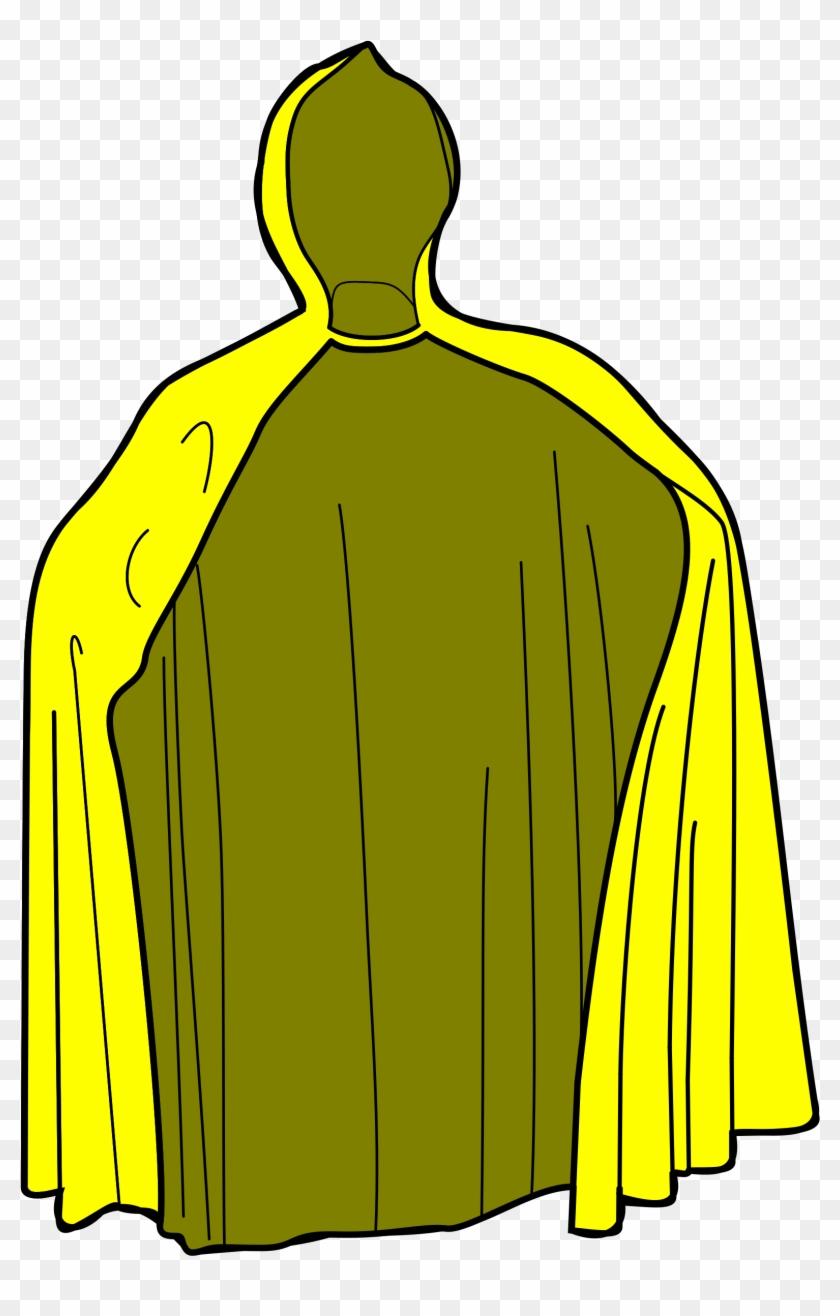 Yellow Raincoat Clipart - Clip Art Rain Coat #90355