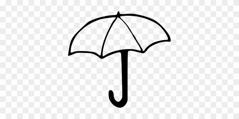 Umbrella Cover Rain Rainy Rain Cover Sunsh - Drawing Image Of Umbrella #90367