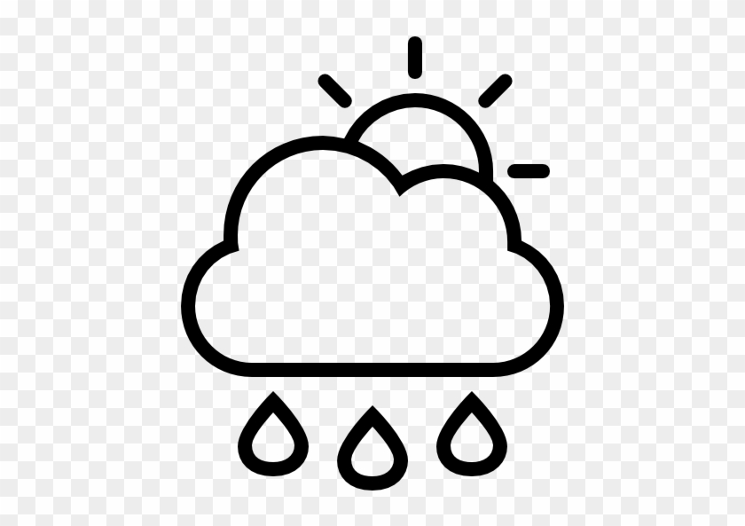 Size - Weather Symbol Black And White #90382