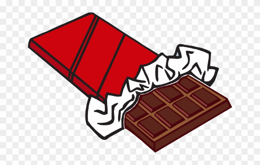 Chocolate Clipart Candy Food Free Clipart Image - Chocolate Clipart #90425