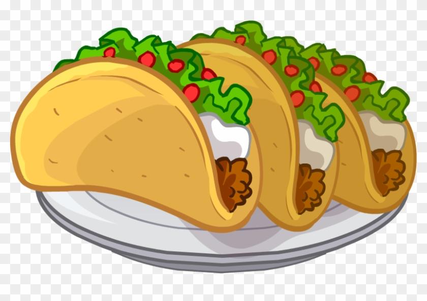 Tacos Clipart Transparent - Tacos Clipart #90436