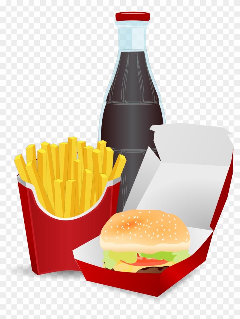 Big Image - Alimentos No Saludables Dibujos #90448