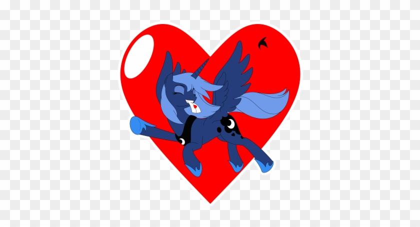 Small Heart Clip Art Free - Valentines Day Princess Luna #90487