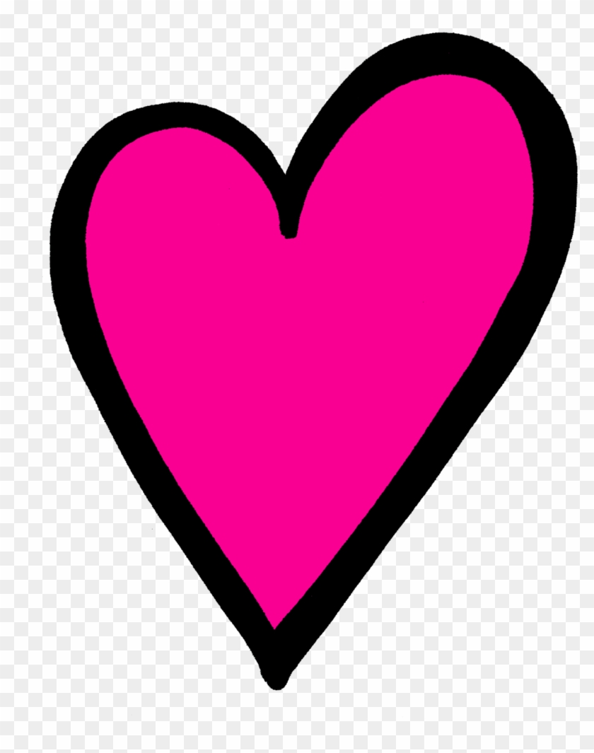 Discover Ideas About Pink Hearts - Clip Art #90543
