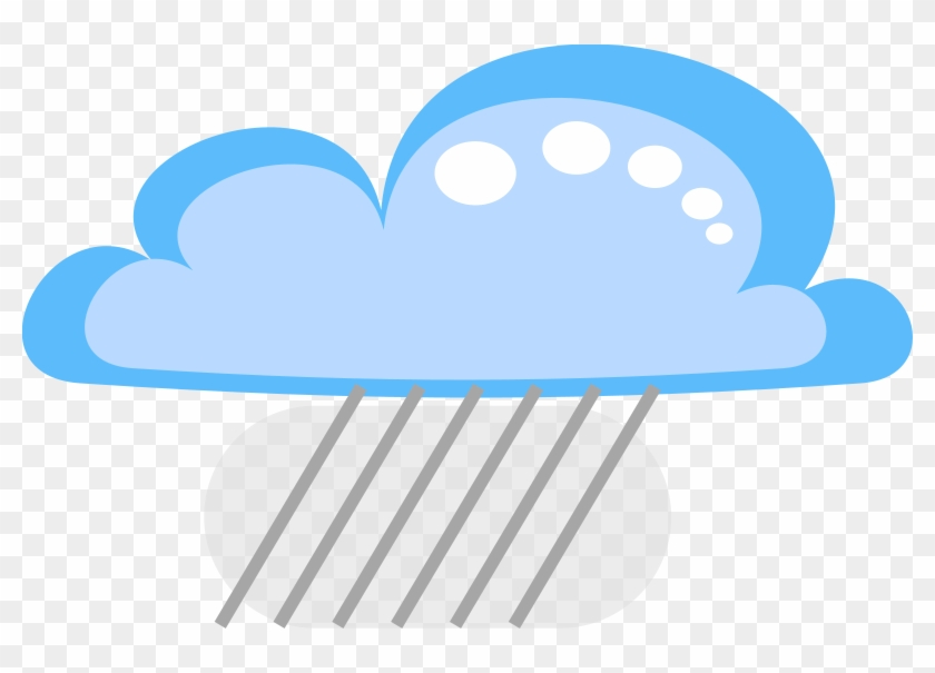 Free Drakoon Rain Cloud 2 - Cloud And Rain Vector #90555