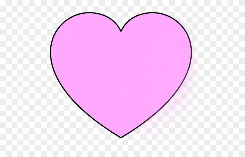 Light Pink Heart Clip Art At Clker - Clip Art #90606