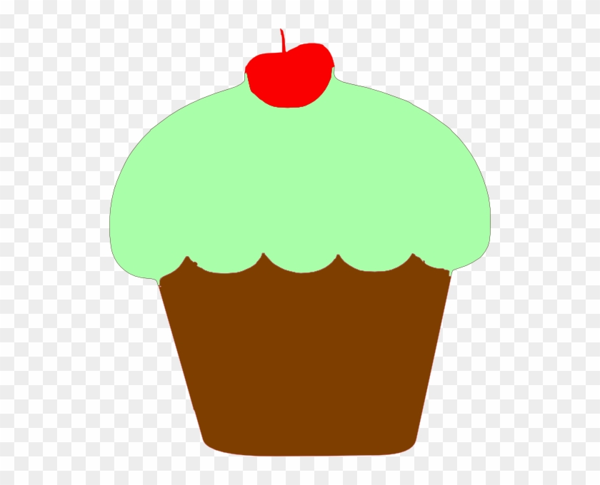 Codes For Insertion - Mint Green Cupcake Clipart #90611