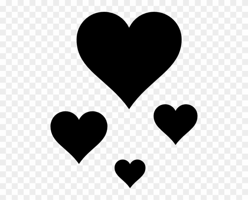 Hearts Clip Art At Clker - Pink Heart #90612