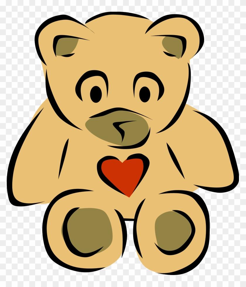 Vector Clip Art - Teddy Bear Clip Art #90614