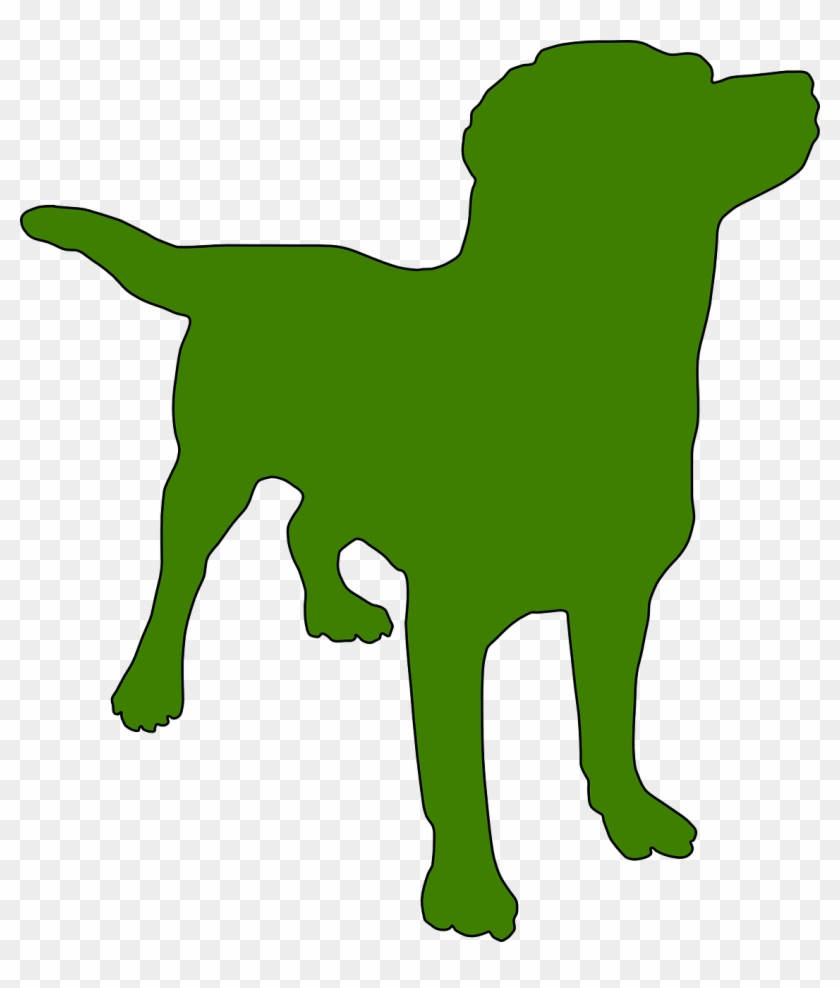 Earth Day Tips For Earth-friend Dog Owners - Dog Silhouette .png #90773