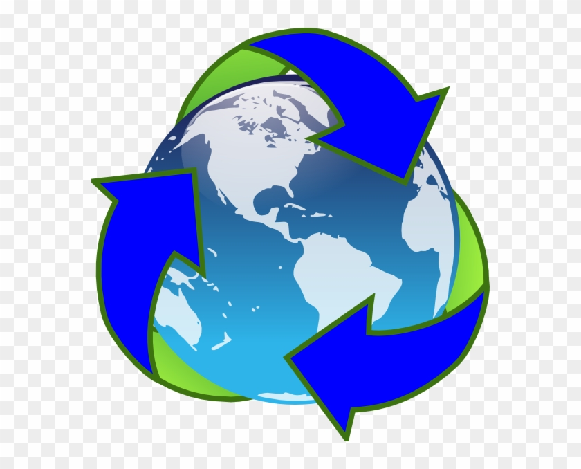 Free Earth Day Clip Art Earth Reduce Reuse Recycle Free