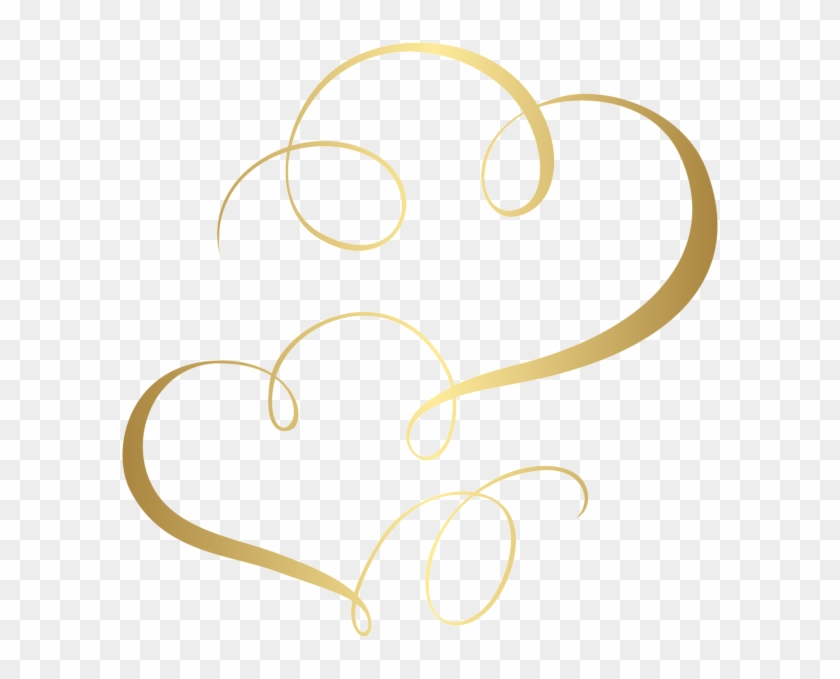 Two Hearts Cards Ornament Png Clip Art - Two Hearts Clipart Png #90783