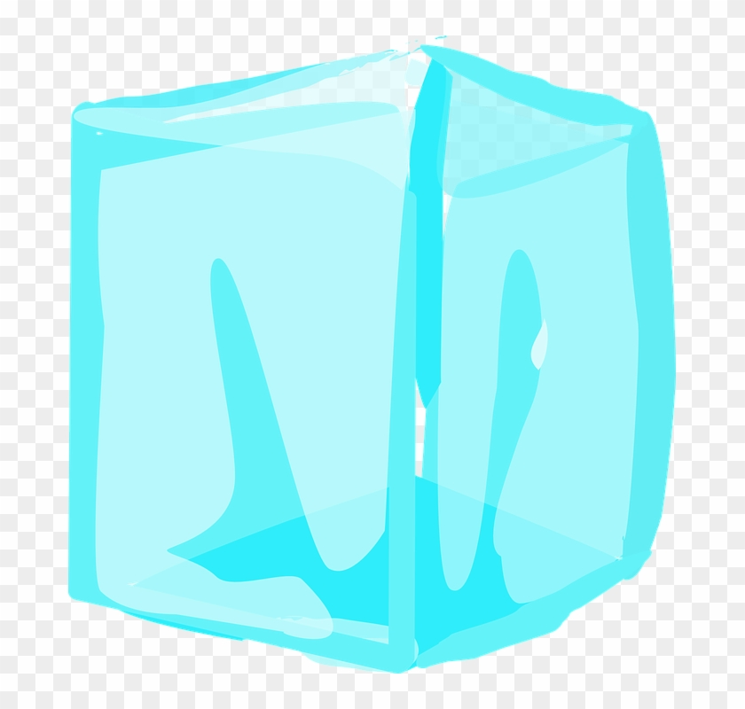 Cold Clipart Transparent - Block Of Ice Clipart #90857
