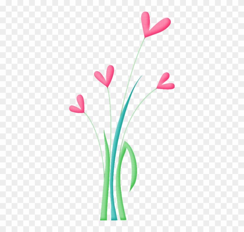 Flores De Primavera - Clip Art #90871