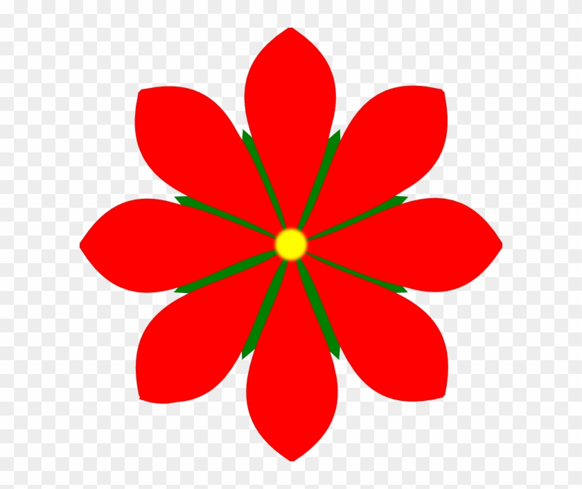 8 Petal Flower Silhouette Studio 3 Craftisan Studios - Flower With 8 Petals #90873