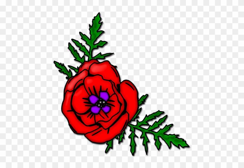 Download - Poppy Flower Clipart #90920