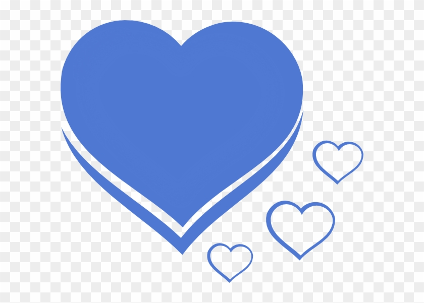 Heart Blue Azul Clip Art At Clker - Sorry Image With Name
