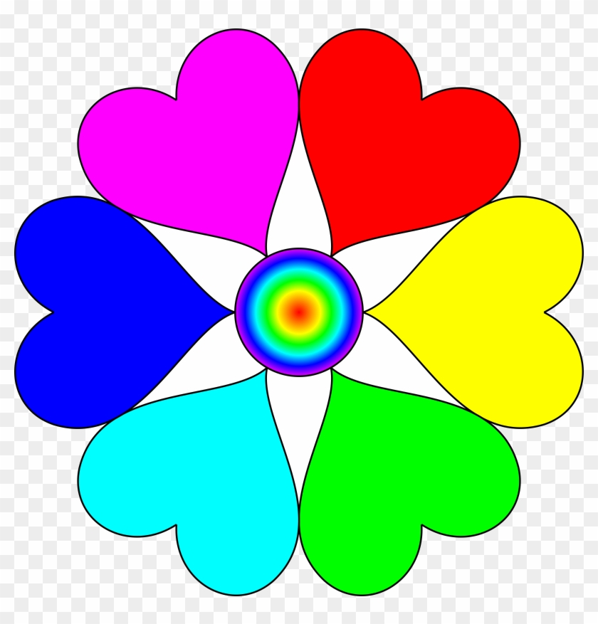 Big Image - Heart In Different Colours #90955