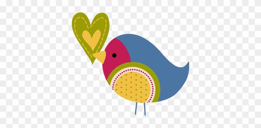 Photos Clipart Little Bird Pencil And In Color Clip - Cute Little Bird Clip Art #90954