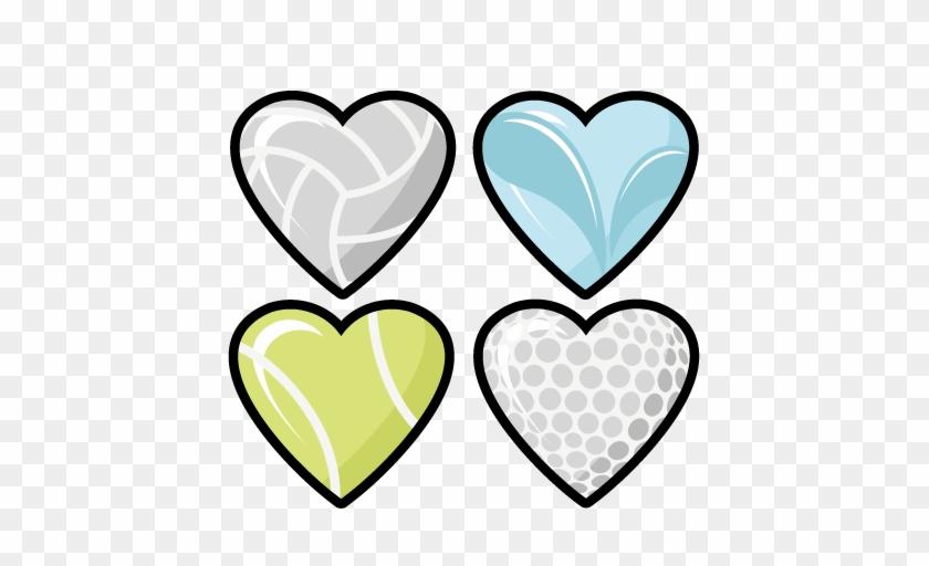 Basketball Heart Clipart - Sport Heart Png #91069