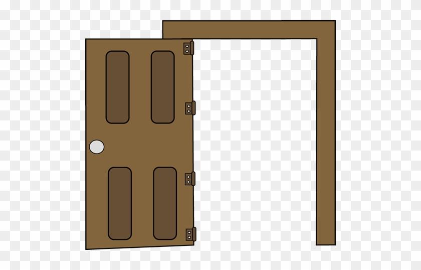 Open Clip Art Image - Door Open Clip Art #91101