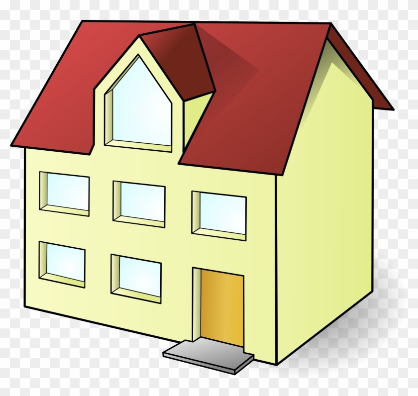 Open House Clipart Hostted - House Clip Art #91140