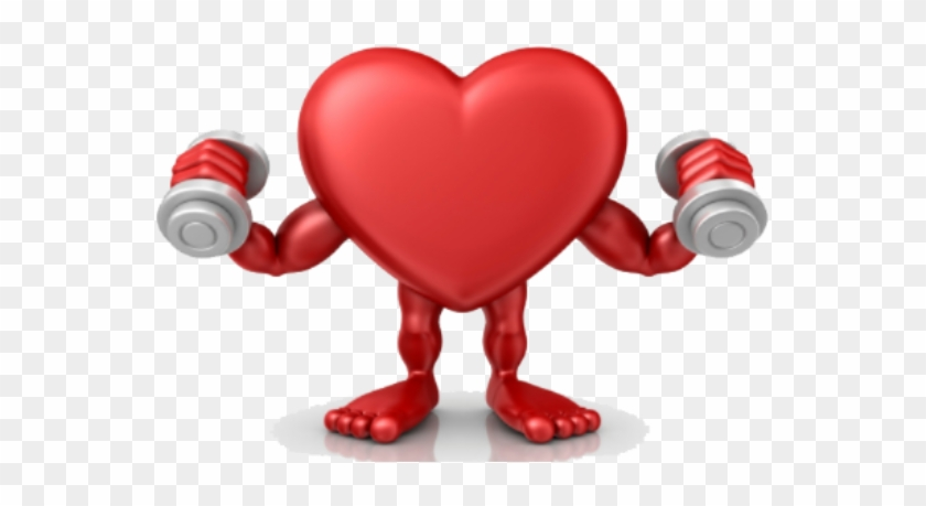 Heart Health Month - Corazon Haciendo Ejercicio Gif #91252