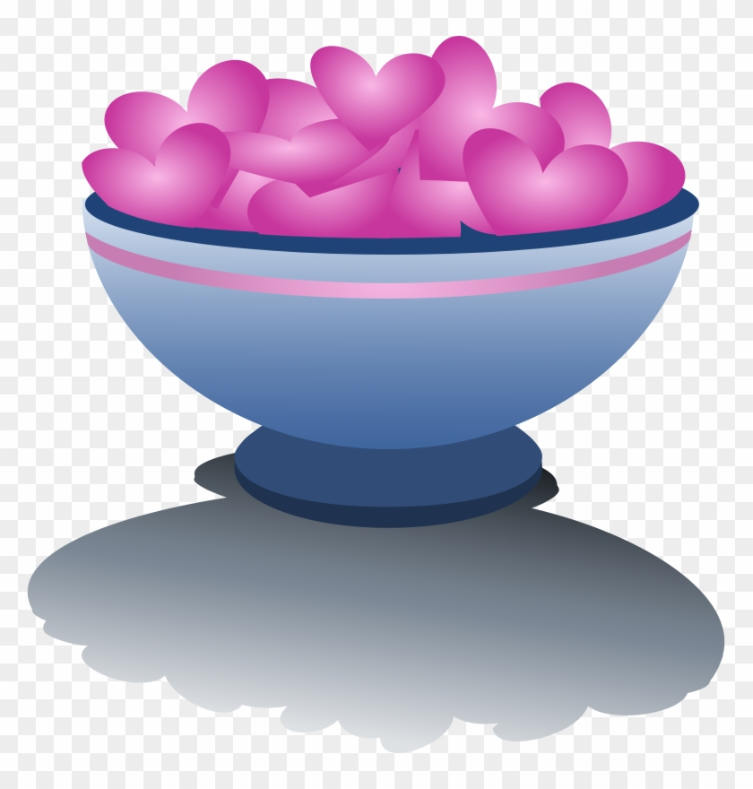 Valentine Bowl Hearts Love - Bowl Of Hearts #91263