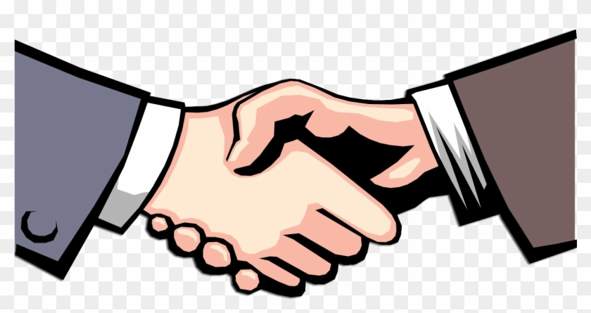 Blustery Clipart - Shake Hands Clipart #91267
