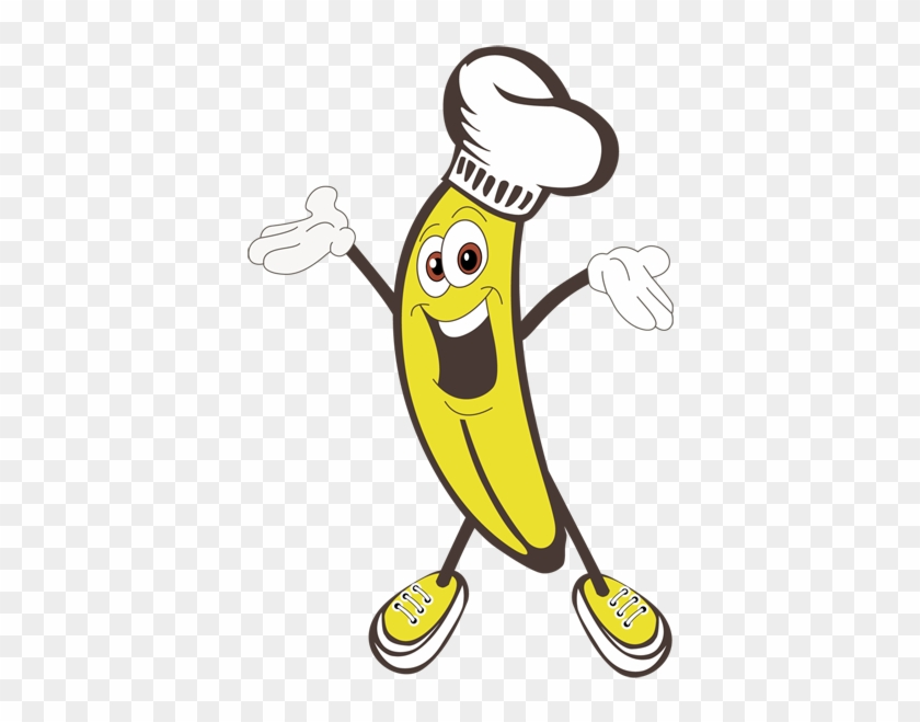 Top Banana Cooking Valentine's Day Fun - Banana Man Clip Art - Free  Transparent PNG Clipart Images Download